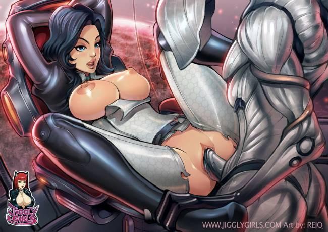 Mass effect секс картинки 1.