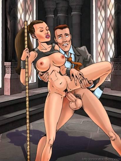 Angelina_Jolie Famous_Comics Lara_Croft Tomb_Raider // 768x1024 // 253